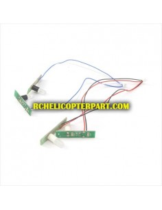 CX Model CX036-13 Motor A with Red Wire for CX Model CX-036 Drone Quadcopter Parts