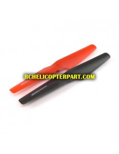 101-G-02 Main Blade Red 4 PCS Parts for Sky Rover YW857101-G Dark Stealth Helicopter