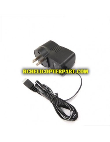 Hua Jun W609-8-07-EU Wall Charger 220V Round Pin for Huajun W609-8 Pathfinder Hexacopter Drone Parts