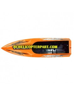 Udi UDI001-07-Orange Hull for UDI001 RC Boat Parts