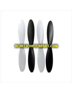 DFD F180-16 Propeller 4 PCS (White) for DFD F180 Quadcopter Parts