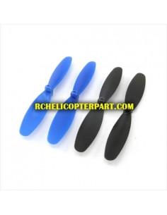 DFD F180-17Propeller 4 PCS (Blue) for DFD F180 Quadcopter Parts