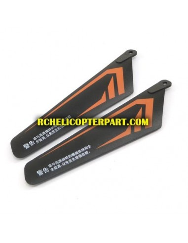 301-02 Upper Main Blade 2PCS Parts For Skyrover YW857301 Master Helicopter