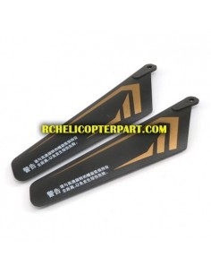 302-02 Top Main Blade 2PCS Spare For Skyrover YW857301 Master Helicopter